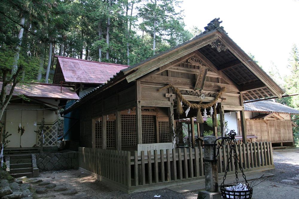 小山八幡社阿智村古科