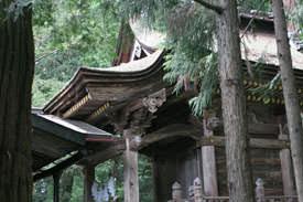 金原流の建築 若一王子神社