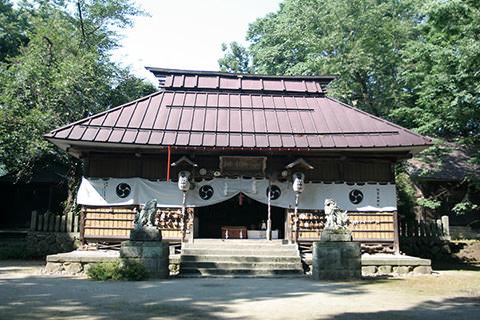 飯笠山神社-飯山市