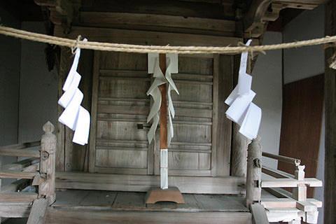 諏訪神社 正面