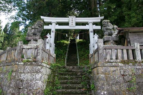 白髯神社-長野市