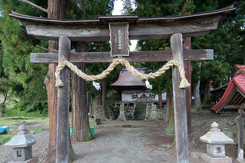 葛山落合神社