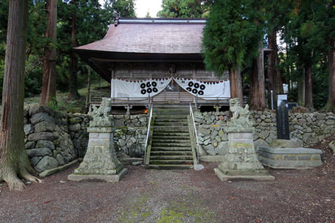 葛山落合神社-長野市