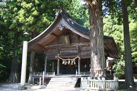 矢彦神社-辰野町