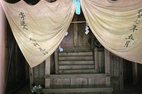 山田大杉神社-高山村