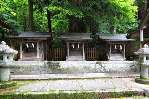 水無神社-木曽町