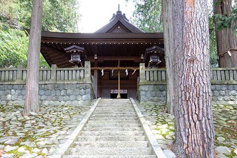 薮原神社-木祖村