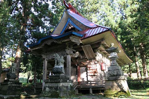 北野神社-栄村