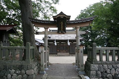雁田水穂神社