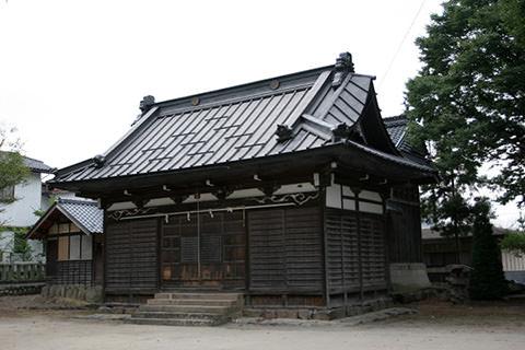雁田水穂神社-小布施町