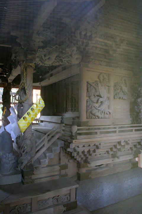 五郎姫神社-伊那市