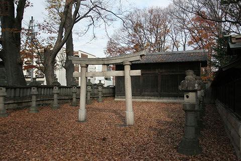 岡宮神社-松本市