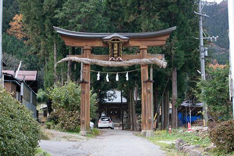 源関神社-長野市