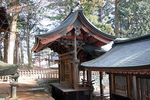 乙事諏訪神社-富士見町