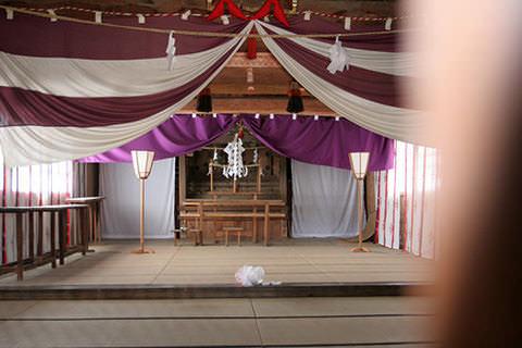 高杜神社里宮