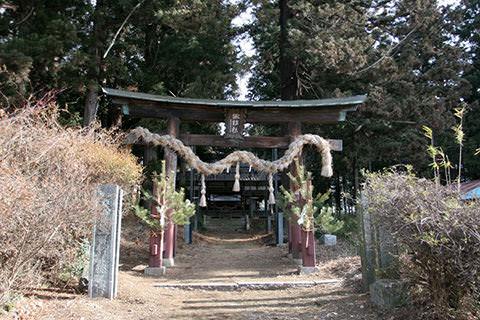 北熊井諏訪社