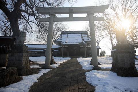 伊豆毛神社
