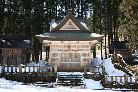 雨降宮嶺方諏訪神社