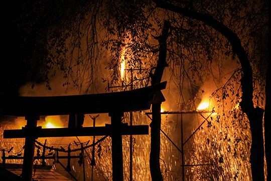 下清内路の手づくり花火