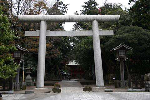 鹿島鳥居-鹿嶋神宮