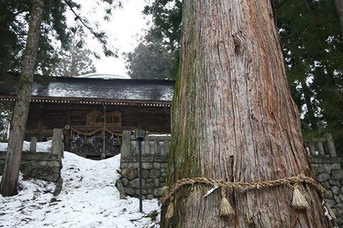 霜降宮細野諏訪神社