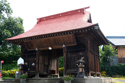小菅神社仁王門