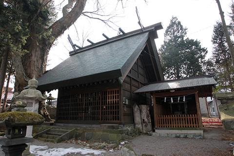 御射山神戸八幡社