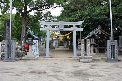 都波岐神社奈加等神社