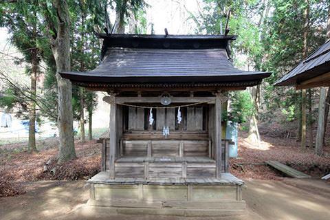 荒船山神社里宮