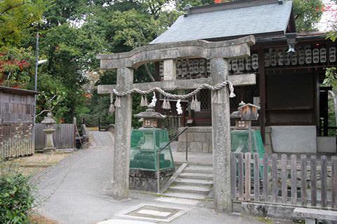 京都御苑 唐破風鳥居