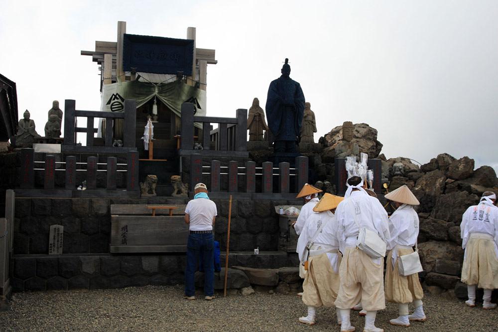 御嶽神社頂上奥社