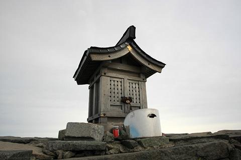 穂高神社嶺宮